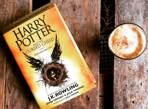 harry potter and the cursed child by Book Barista